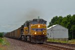 UP 5673 eastbound UP loaded coal train